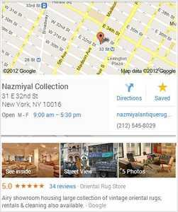 Nazmiyal Antique Rugs in Manhattan New York City
