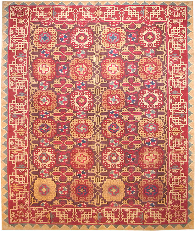 Decorative rugs2 Antique Decorative Rugs and Carpets