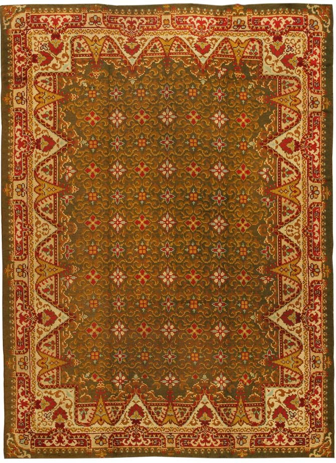 Antique Irish Rug 873 Main Image - By Nazmiyal