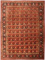 Antique Bidjar Persian Rug 43562 Color Details - By Nazmiyal