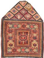 Antique Kurdish Persian Rugs 2203 Color Details - By Nazmiyal