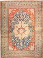 Antique Kashan Persian Rug 42624 Color Details - By Nazmiyal