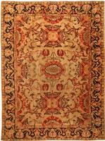 Antique Axminster English Rug 1737 Color Details - By Nazmiyal