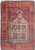Antique Turkish Rug 2794 Color Details - By Nazmiyal