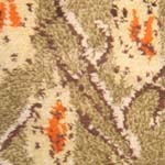 antique scanadavian 42013 Vintage Green Background Scandinavian Carpet by Marta Maas 47515