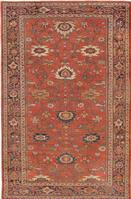 t 44148 Antique Sultanabad Persian Rug Antique Persian Mahal Gallery Carpet 47298