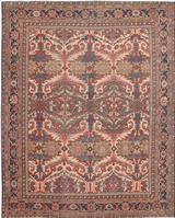 Antique Sultanabad Persian Rugs 44715 Color Details - By Nazmiyal