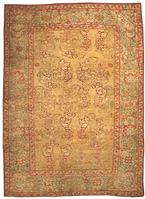 Antique Agra Indian Oriental Carpets 40562 Color Details - By Nazmiyal
