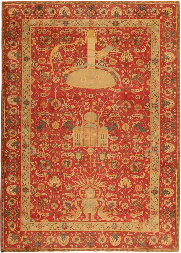 Antique Turkish Tuduc Oriental Rug #786 Main Image - By Nazmiyal