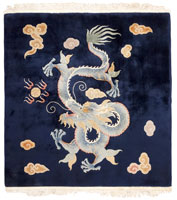 Antique Chinese Rug #45153 Color Details - By Nazmiyal