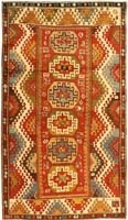 Antique Kazak Rug | 43484 | Color - By Nazmiyal