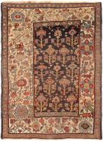 color 45502 Antique Tribal Persian Bidjar Carpet 47494