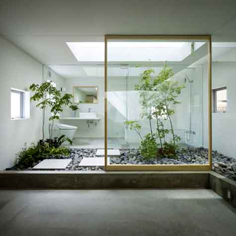 Indoor Garden Spaces | Interior Design | Nazmiyal Blog