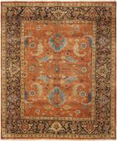 color 44669 Antique Light Blue Persian Sultanabad Carpet 47270