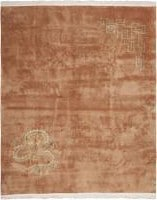 Antique Chinese Deco Rug 45816 Color Detail - By Nazmiyal