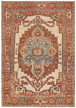 Antique Serapi Rugs