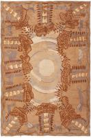Art Deco French Rug 46227 Color Detail - By Nazmiyal