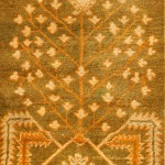 thumb 42997 Antique Ivory Background Oushak Carpet From Turkey 47443