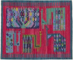 Vintage Swedish Rug 46455 Color Detail - By Nazmiyal