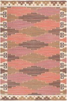 vintage swedish flat woven kilim by marta maas fjatterstorm 46895 color Swedish Pile Carpet by Marta Maas 47289