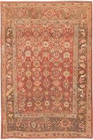 antique persian bidjar rug 44210 color Antique Bidjar Persian Sampler Rug 47377