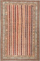 Antique Shirvan Caucasian Rug 47056 Nazmiyal - By Nazmiyal