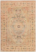 Antique Persian Mohtashem Kashan Rug 47118 Color Detail - By Nazmiyal