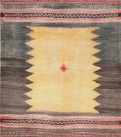 Antique Persian Kilim 47357 Color Detail - By Nazmiyal