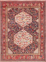 Antique Tribal Persian Afshar Rug 47569 Color Detail - By Nazmiyal