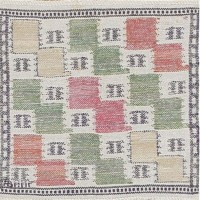 Vintage Scandinavian Rug by Marta Maas 47555 Color Detail - By Nazmiyal