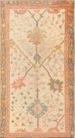 Antique Decorative Turkish Oushak Rug 47577 Color Detail - By Nazmiyal