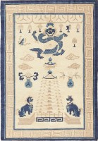 Beautiful Antique Chinese Rug 47472 by Nazmiyal - By Nazmiyal