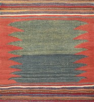 Tribal Gashgai Kilim 47619 Color Detail - By Nazmiyal