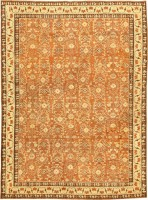 Antique Agra Oriental Rug 42706 Color Detail - By Nazmiyal