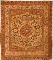 Antique European Rug 43697 Color Detail - By Nazmiyal