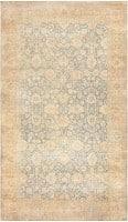 Antique Floral Indian Rug 47602 Color Detail - By Nazmiyal