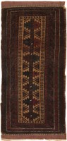 Antique Baluch Persian Rug 2529 Color Detail - By Nazmiyal